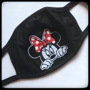 Mickey Mouse picking Face Mask
